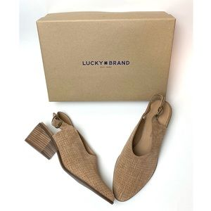 Lucky Brand NEW Lideton Slingback Booties Mules